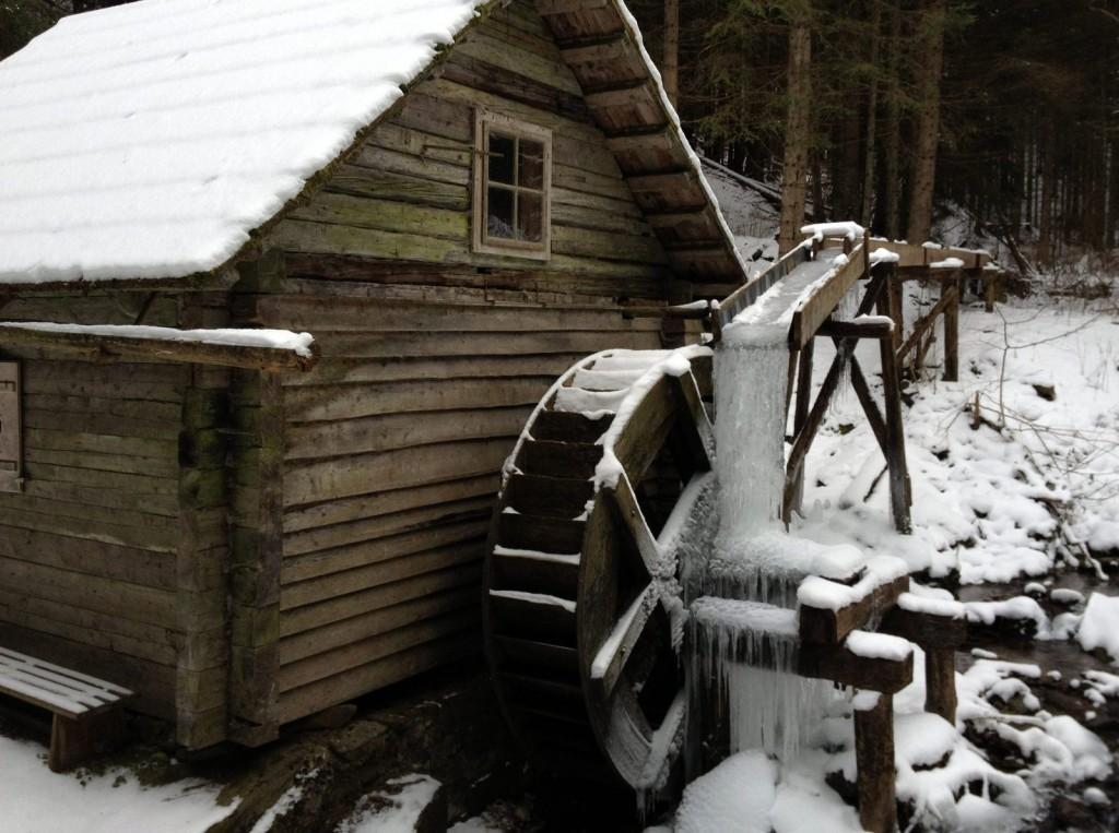 Vodný mlyn v doline Kaltenbachgraben