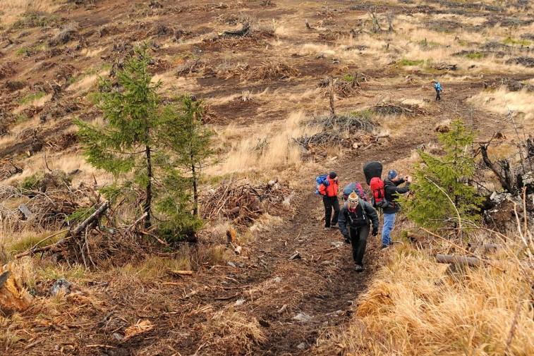 hrebeň Volovských vrchov