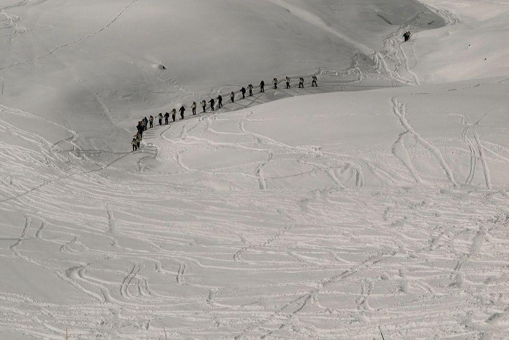 Gruzínski horskí strelci (foto Martin Sekér)