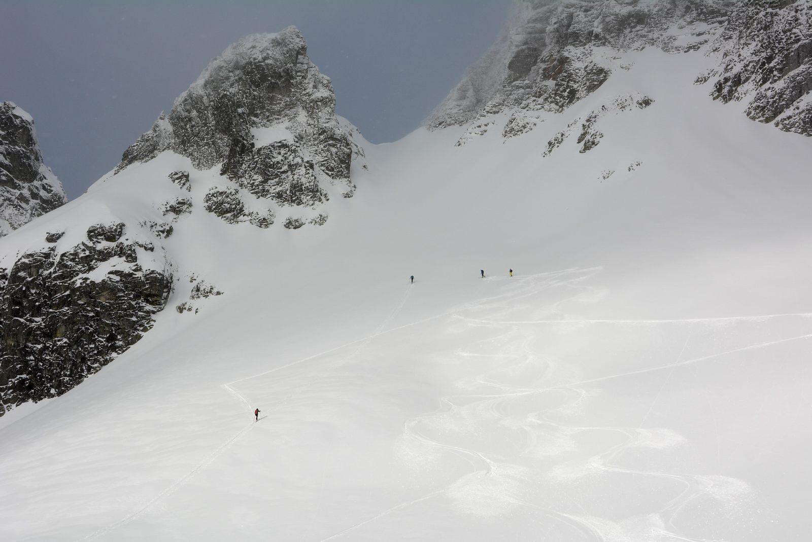 302ed111e3 Skialp vo Veľkej Studenej doline  Malý Závrat a Svišťový štít