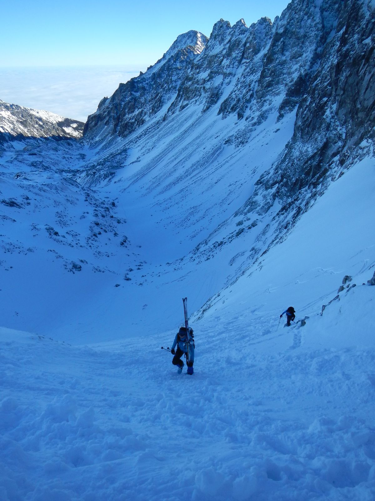 Posledné 3 metre s lyžami na pleci