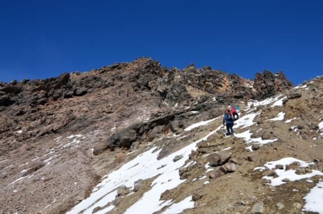 Výstup na Iztaccihuatl 5220 m vkrásnom počasí