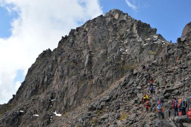 Výstup na Nevado de Toluca 4690 m