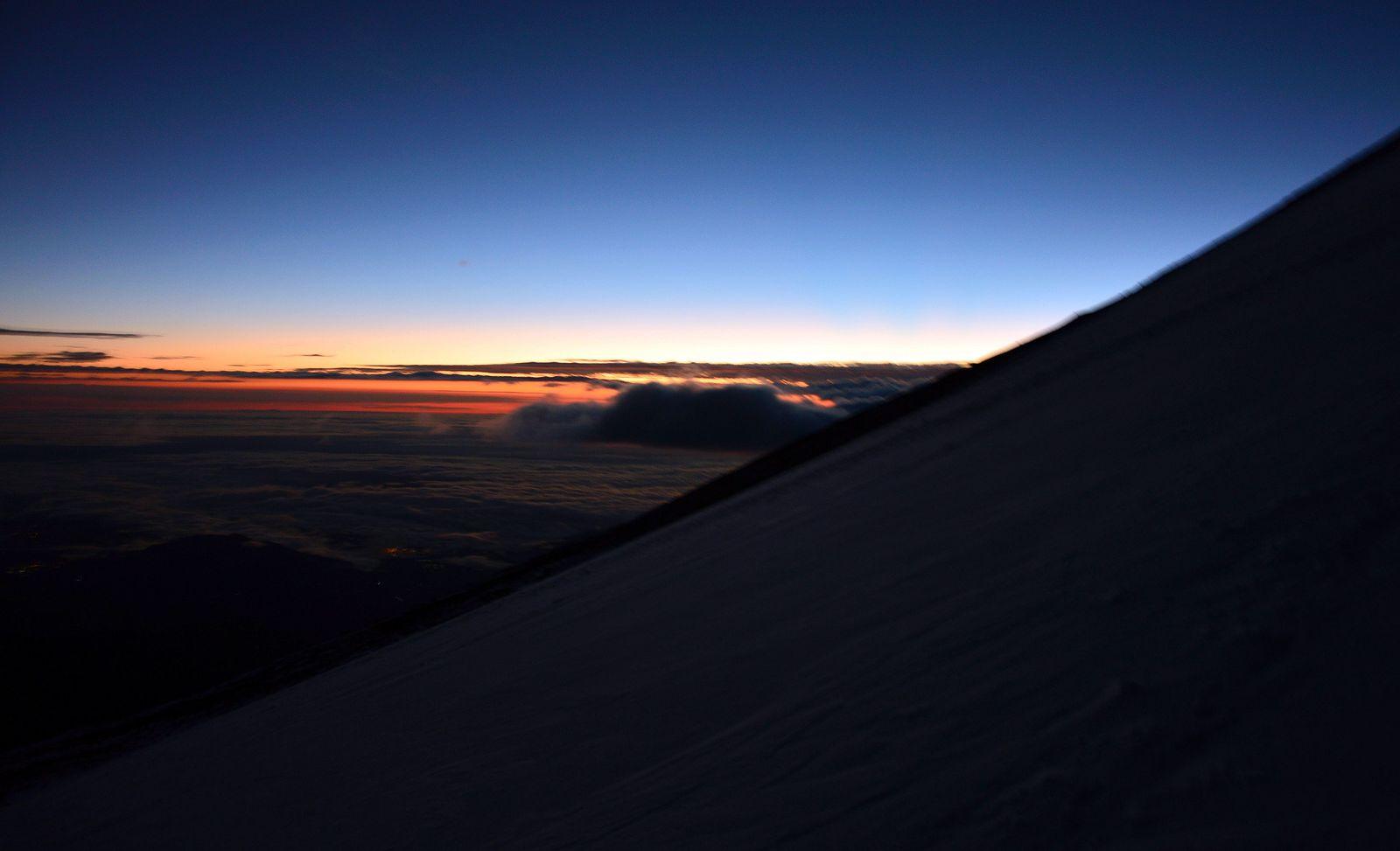 Začiatok výstupu na Pico de Orizaba 5640 m (Foto Jana Bežovská)