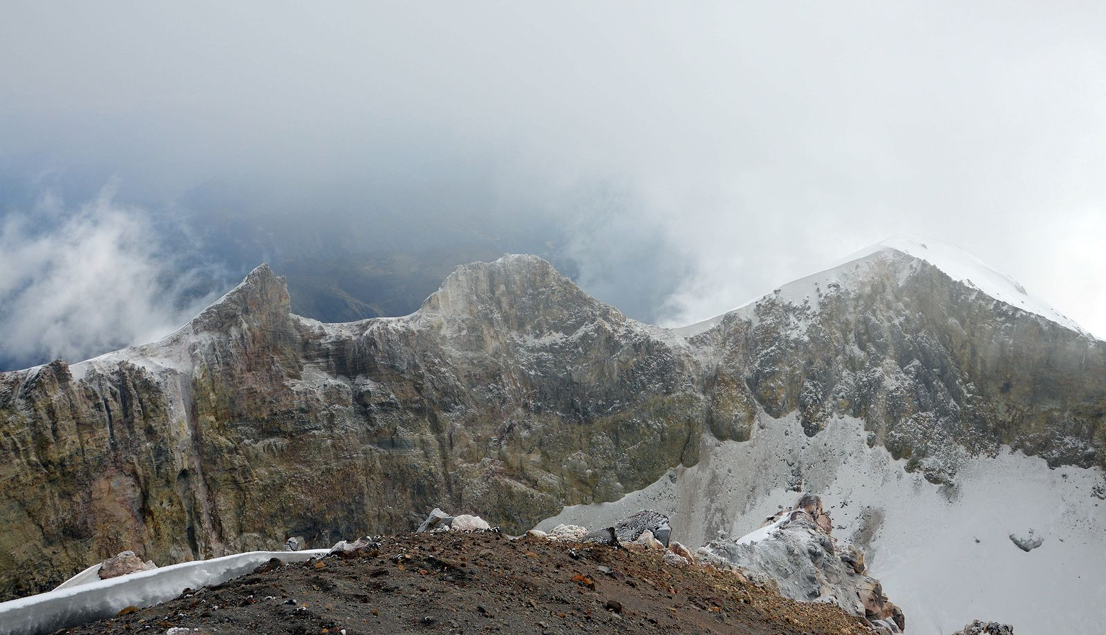 Z výstupu na Pico de Orizaba 5640 m (Foto Jana Bežovská)