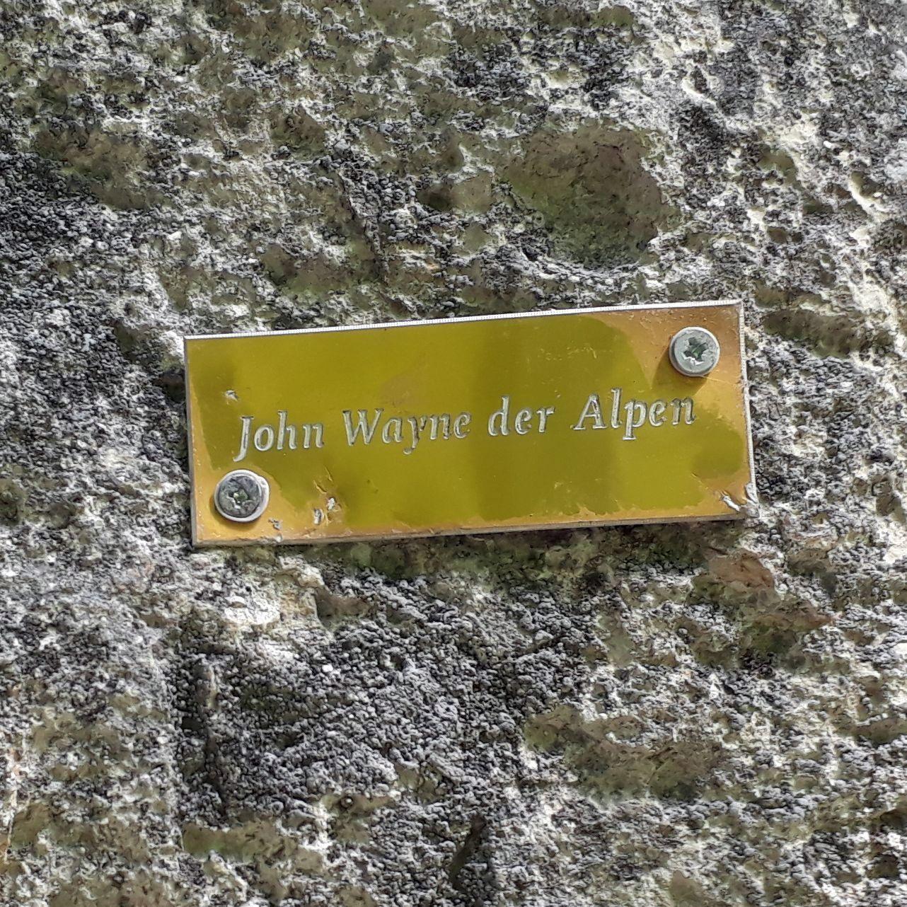Prvá cesta dňa - John Wayne der Alpen