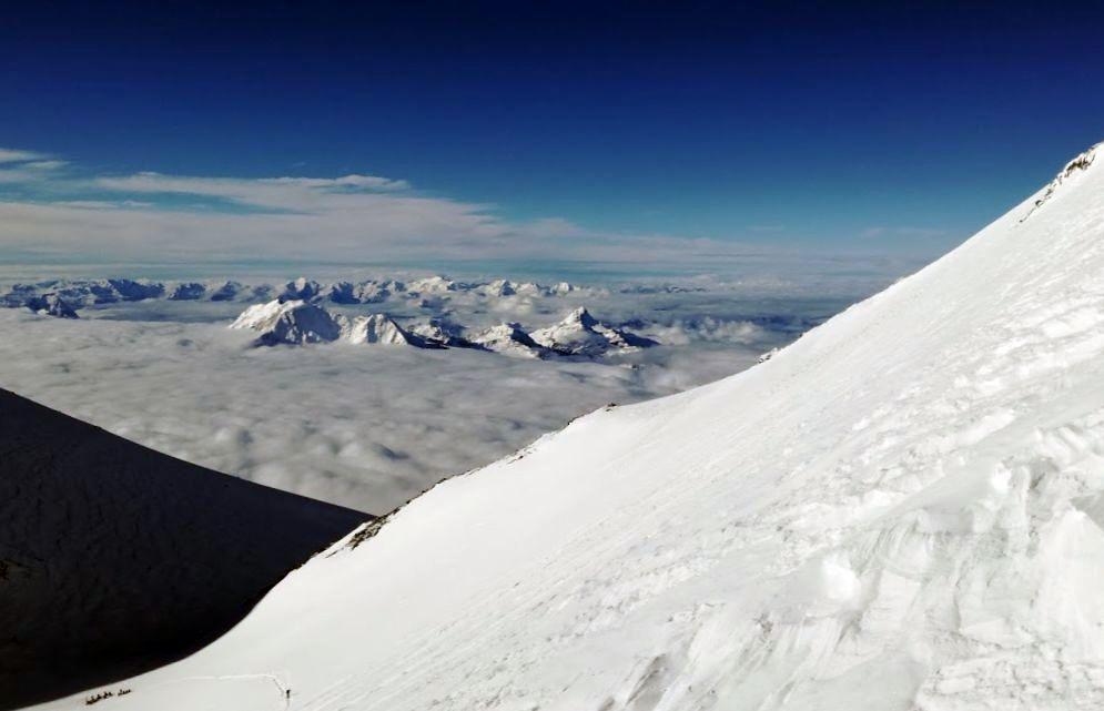 Cestou na západný vrchol Elbrusu