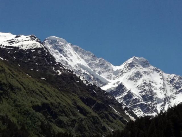 Výhľady z doliny pri zostupe