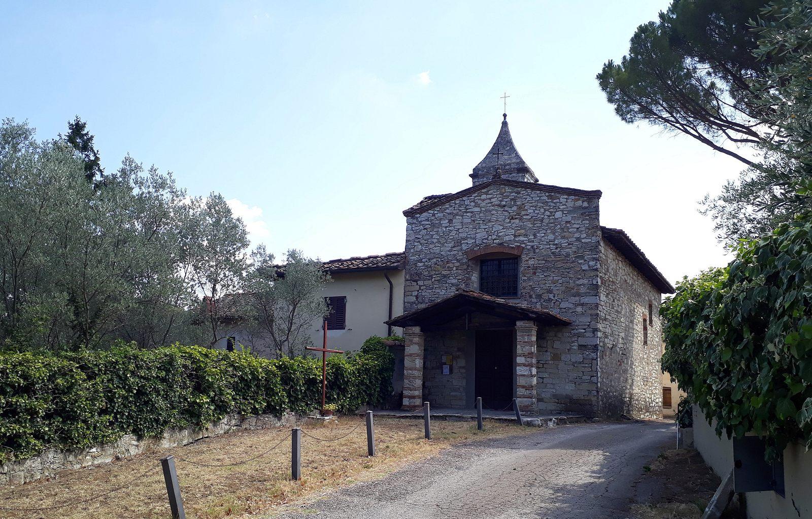 Kostolík v typickej toskánskej osade (viac foto v galérii)