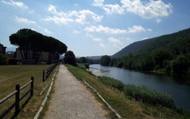 Toskánsko, rieka Arno