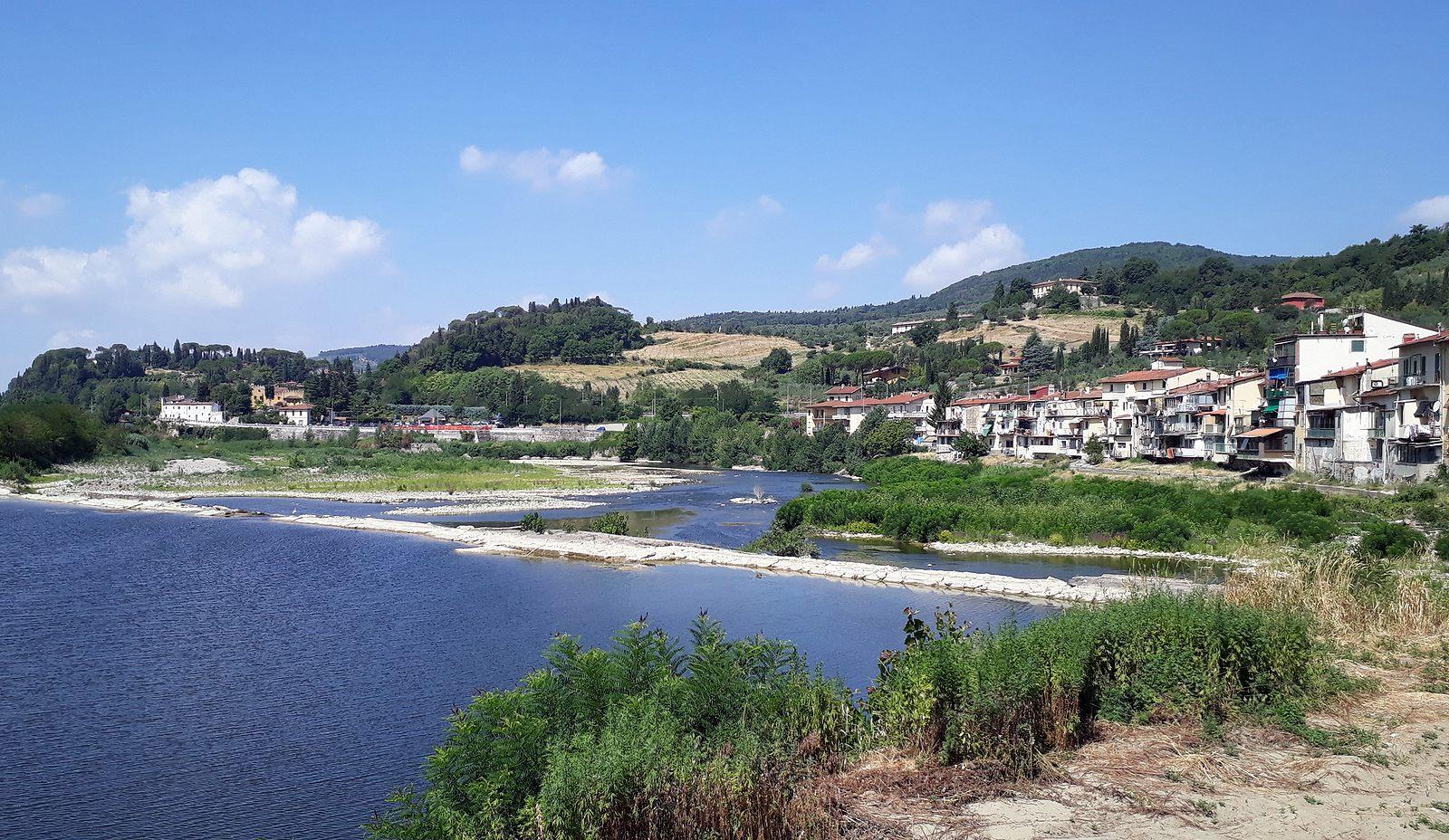 Rieka Arno pri Pontassieve (viac foto v galérii)
