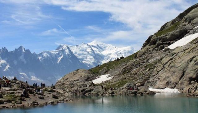 Lac Blanc a Mont Blanc