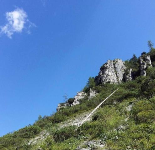 Kala klettersteig - prístup