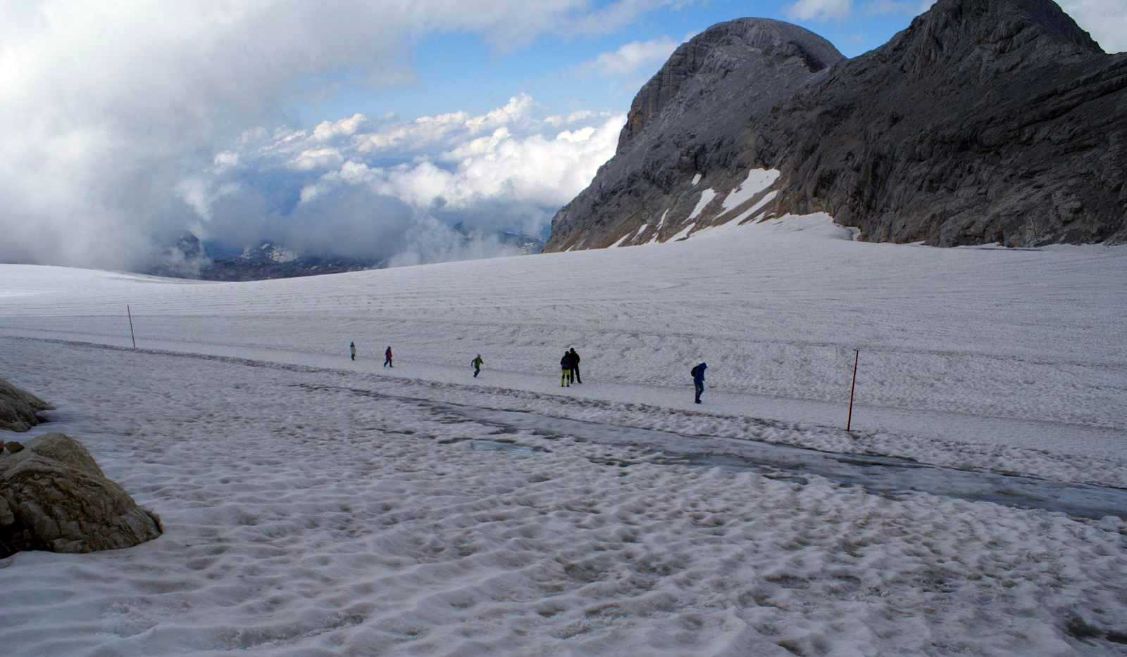 Prechádzka po ľadovci