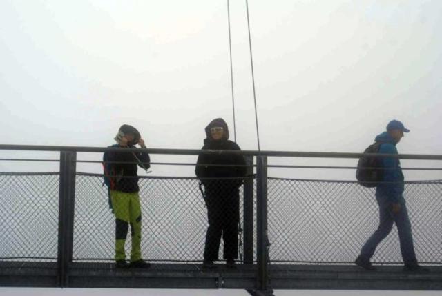 Visutý most pod Dachsteinom