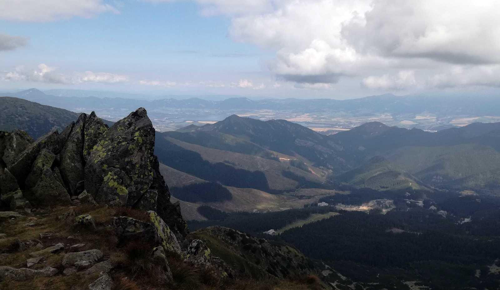 Výhľad z Derešov
