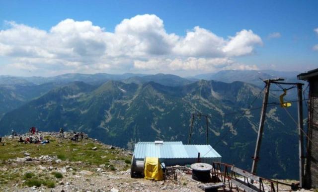 Pohľad z Musaly na druhú - južnú - stranu