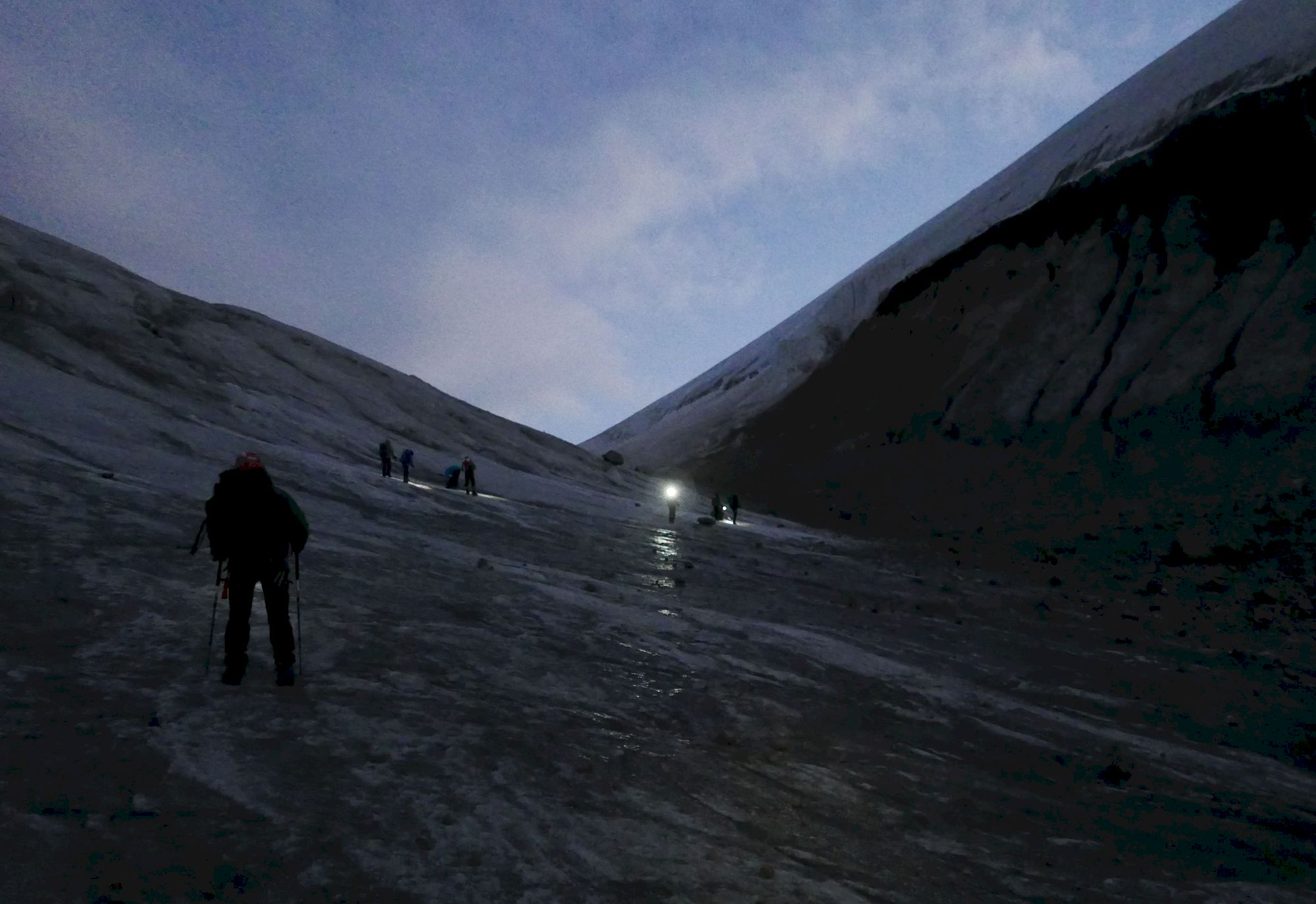 Výstup na Kazbeg