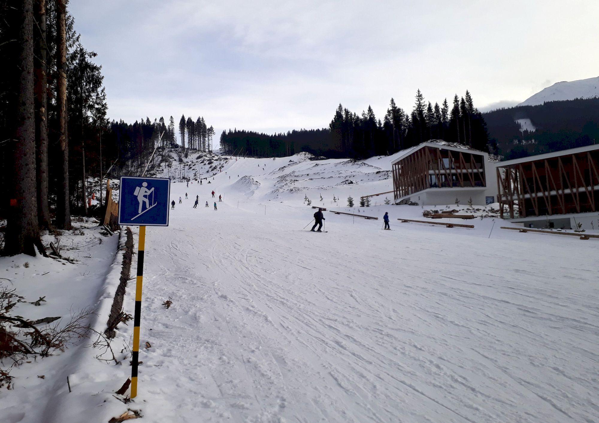 """Značenie """"skialpinistickej"""" trasy v Jasnej"""