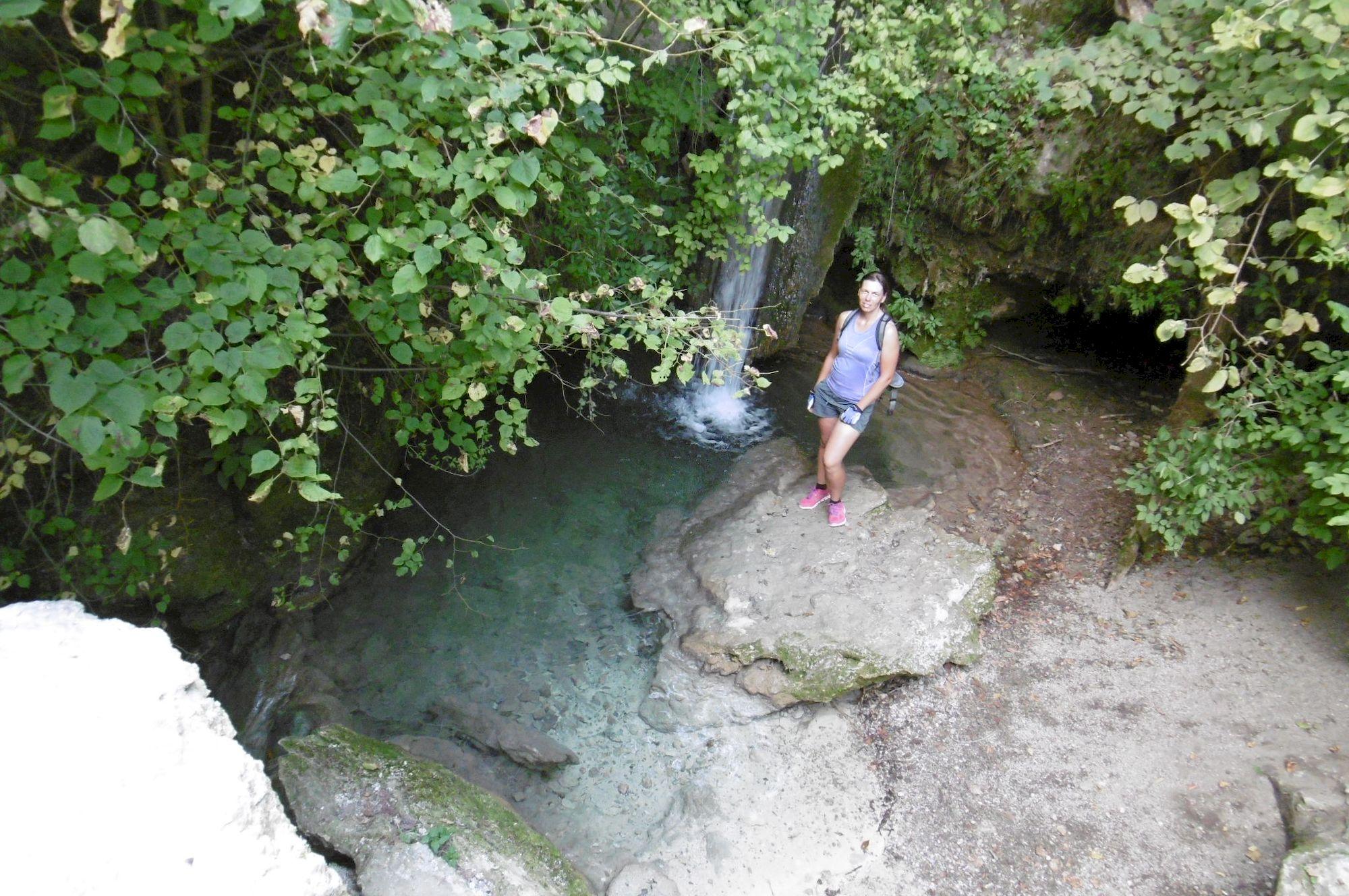 Hájske vodopády – vodopád č.1