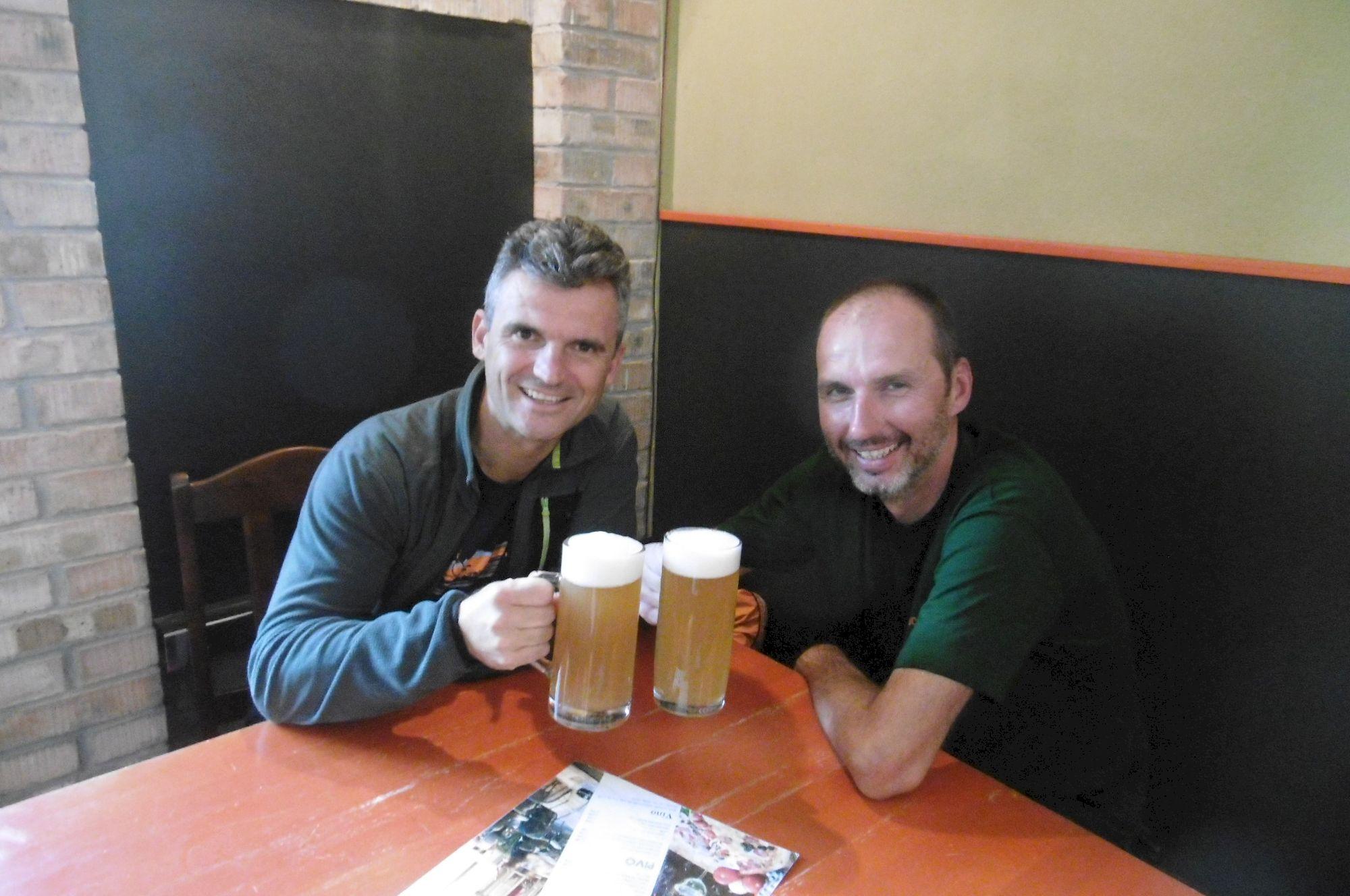 bratranecké pivo v Košiciach ktoré odštartovalo pointu nášho cyklotripu
