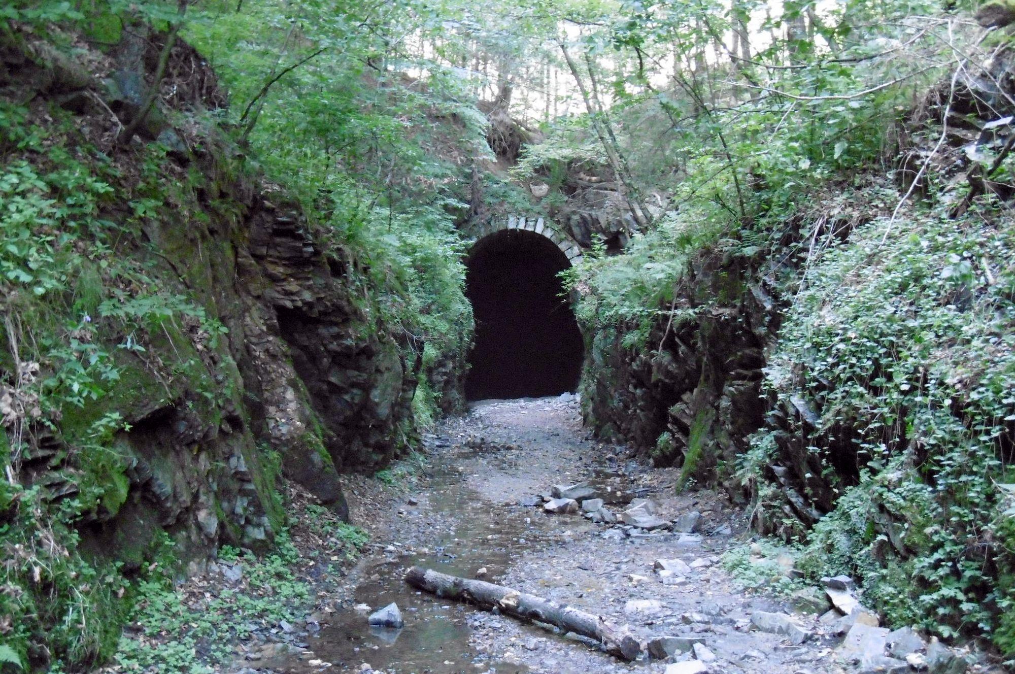 koniec Slavošovského tunela