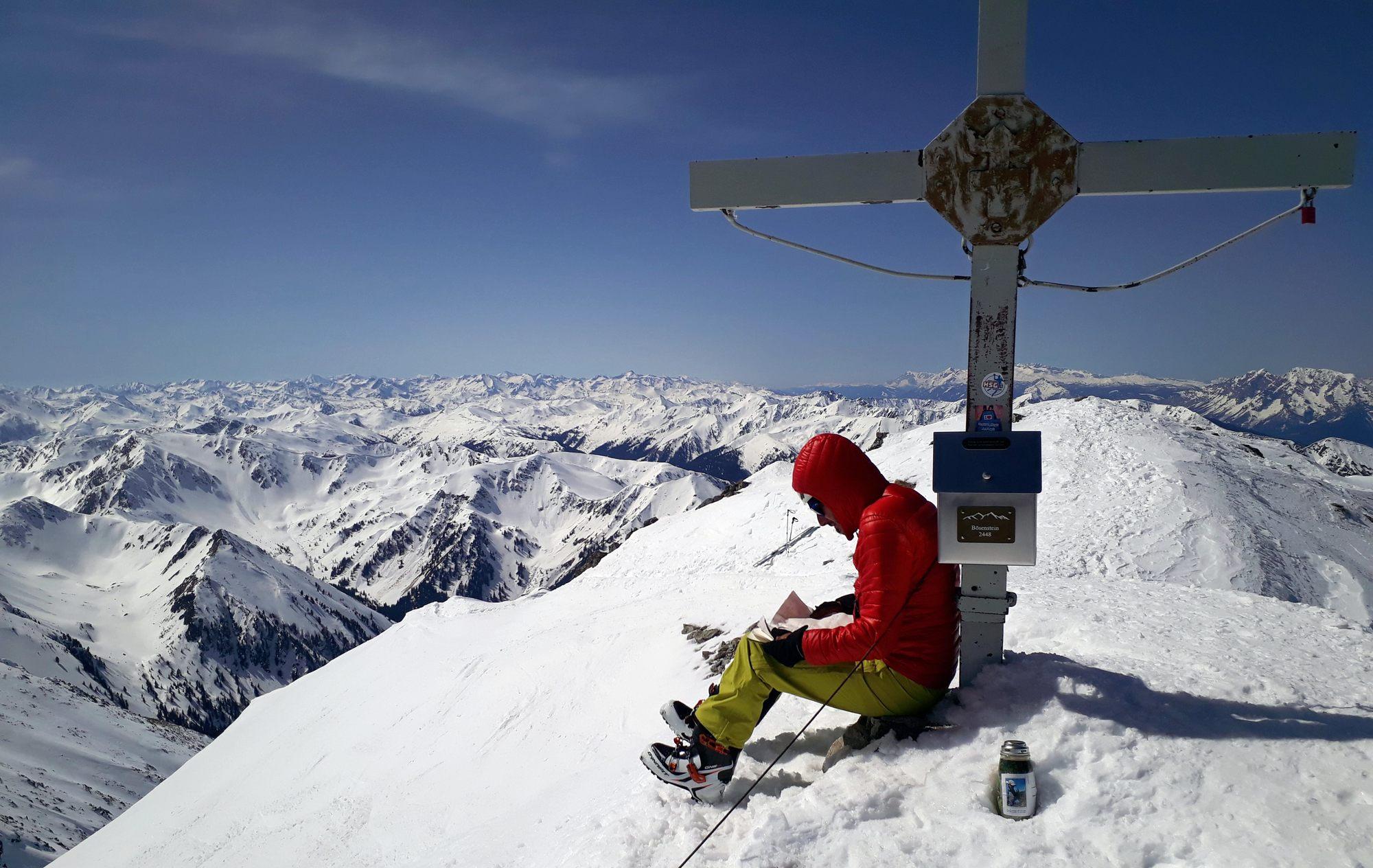 Grosser Bösenstein vrchol