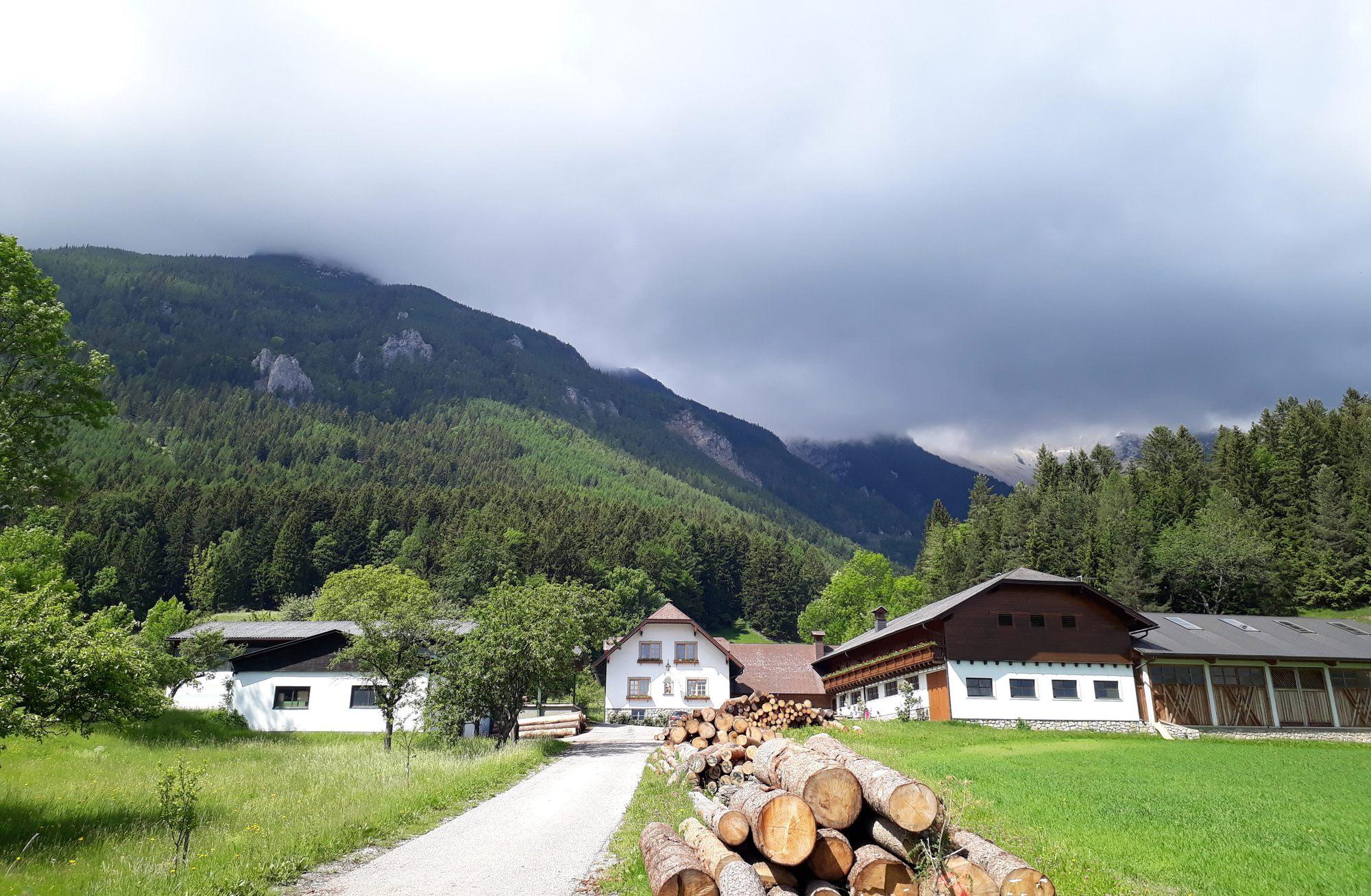 Posledné domy - osada Schwabenhof