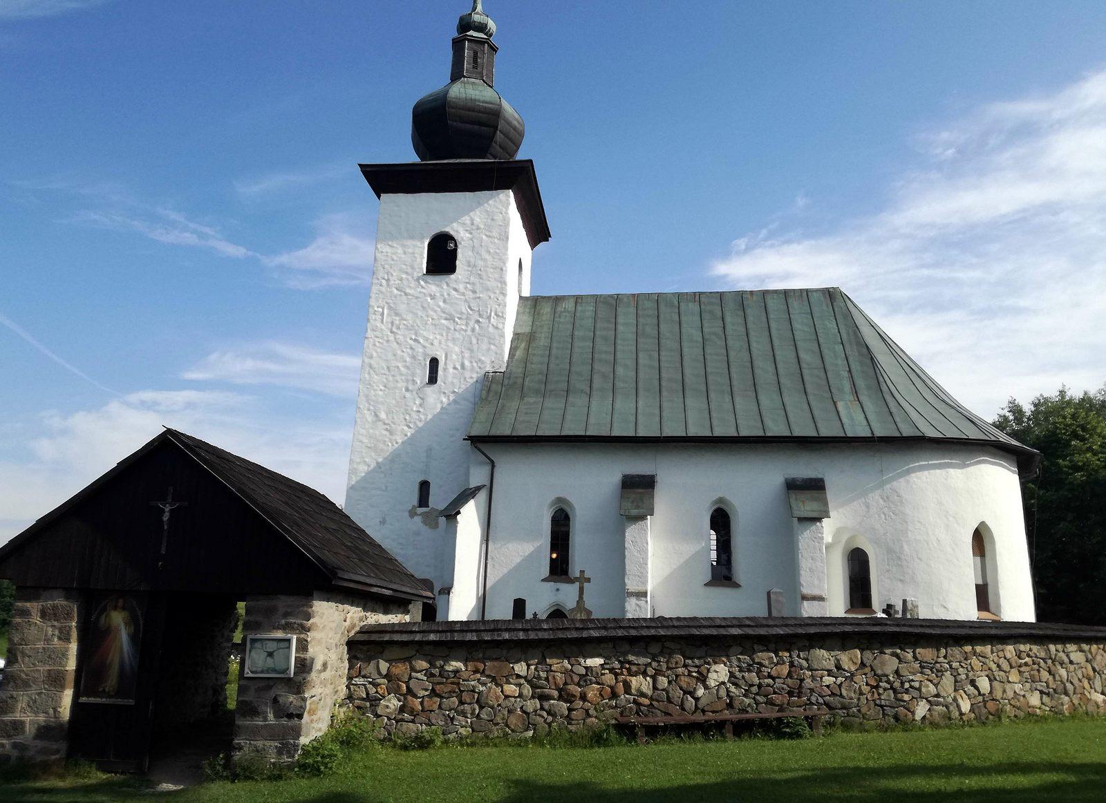 21 Kostol pri strede Europy