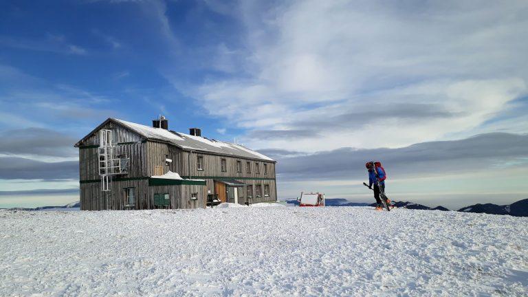Chata Alois Günther Haus na vrchole Stuhlecku
