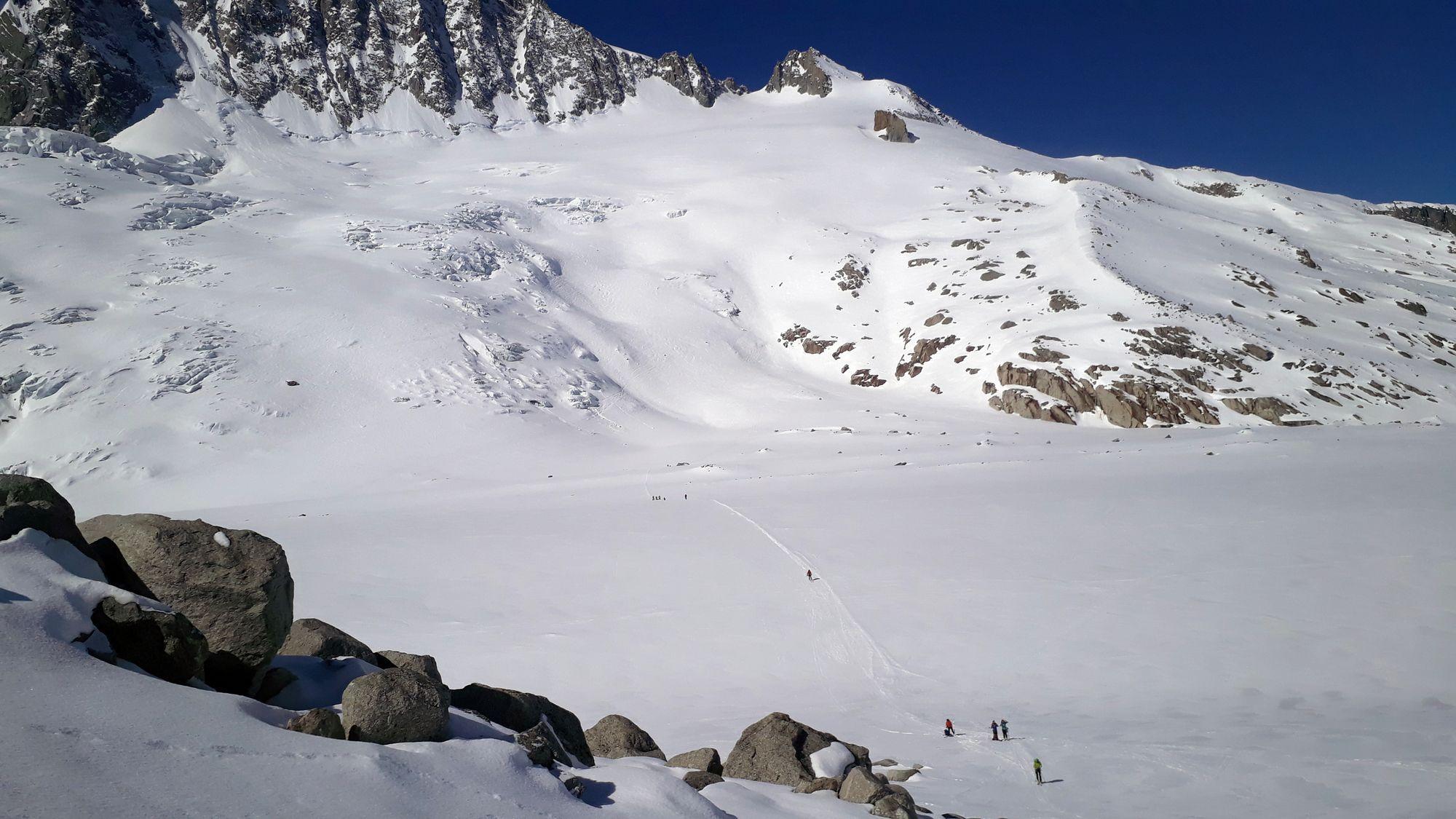 07 Prechod cez ľadovec dArgentiere