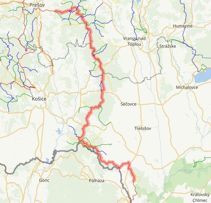 19 Trasa Slanske vrchy
