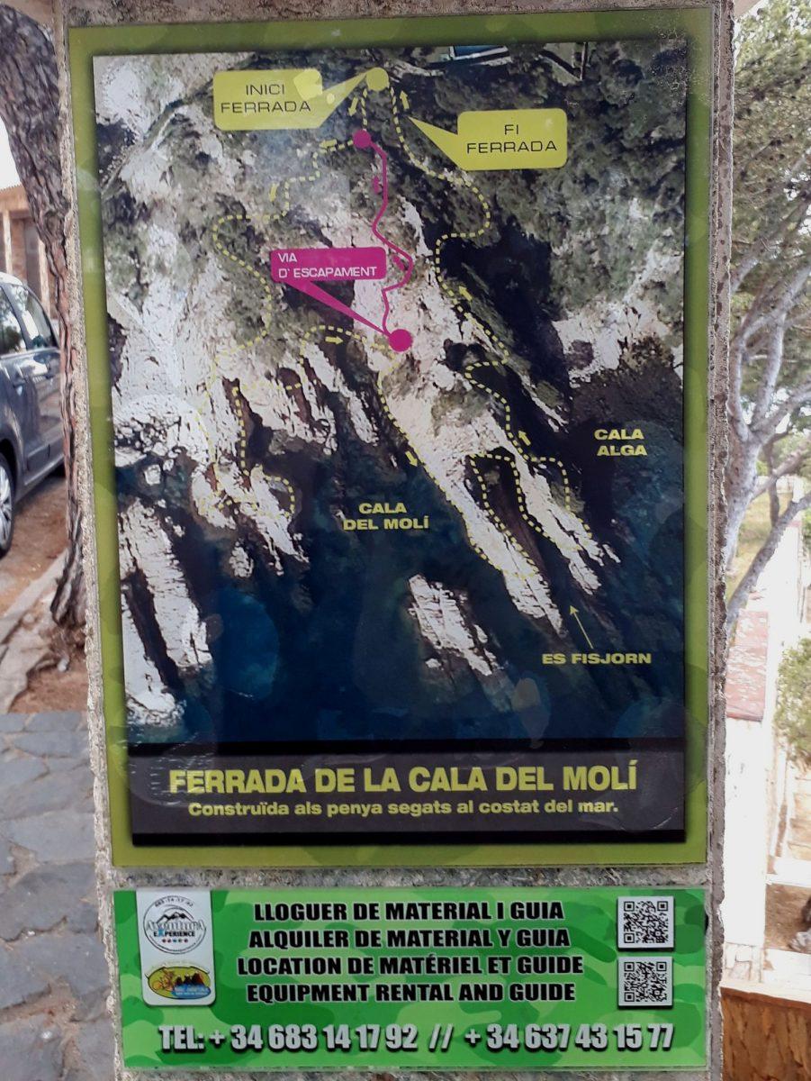 02 Cala del Moli infotabuľa