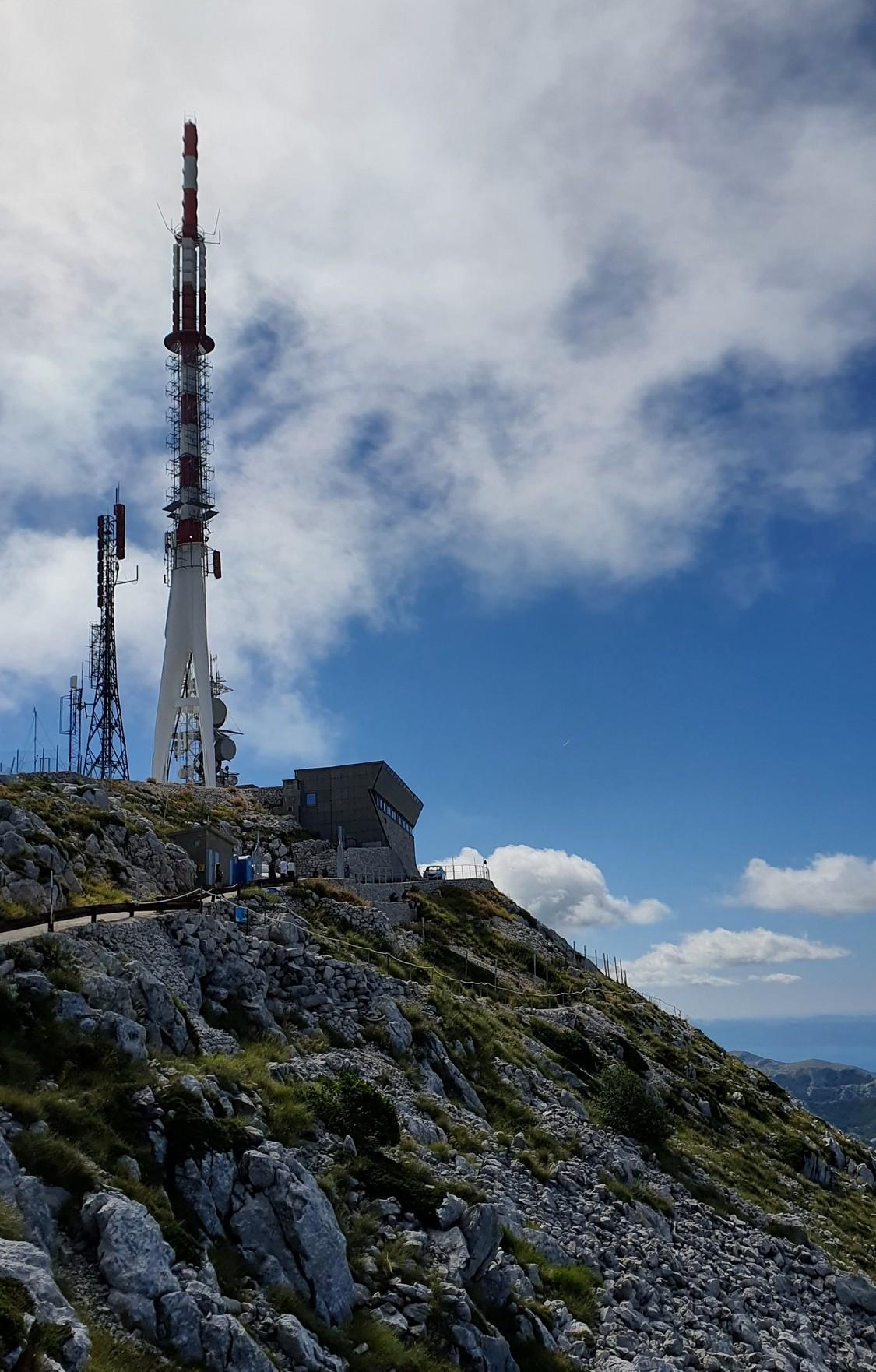 Sveti Jure 16 Vrchol stožiara je najvyšším bodom Chorvátska