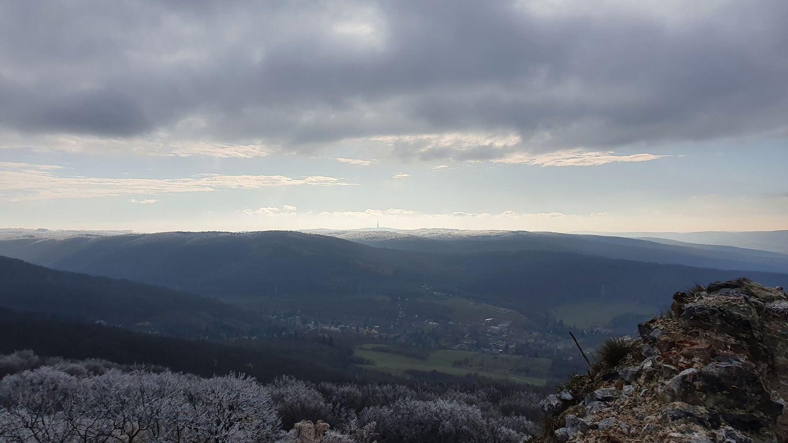 Pajštún 13 v zime