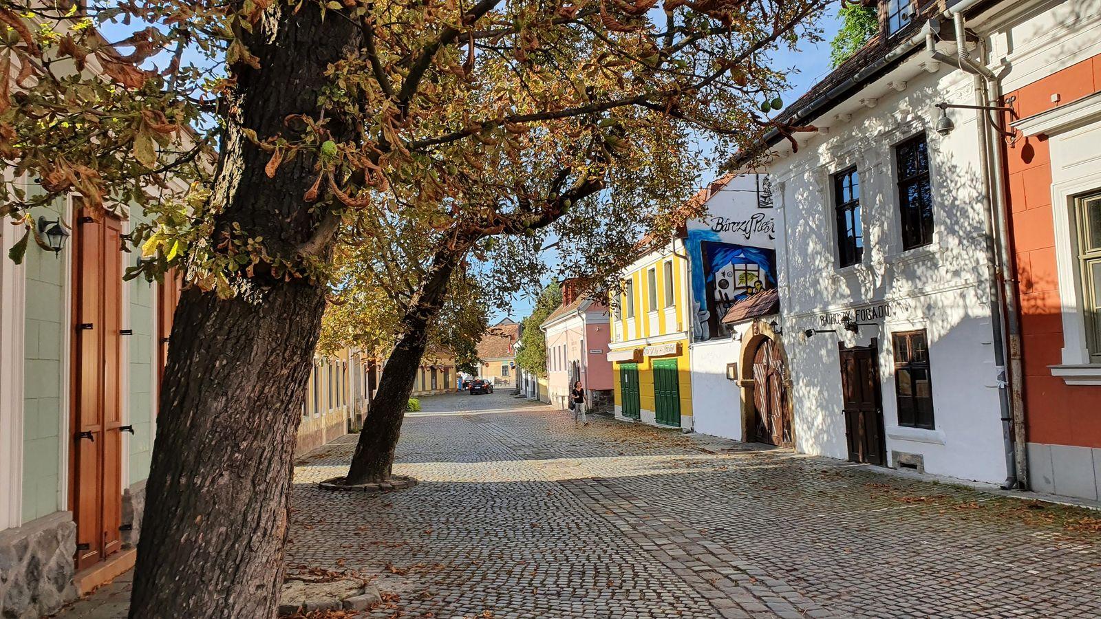 19 Leto pri Dunaji Szentendre v nedeľu ráno