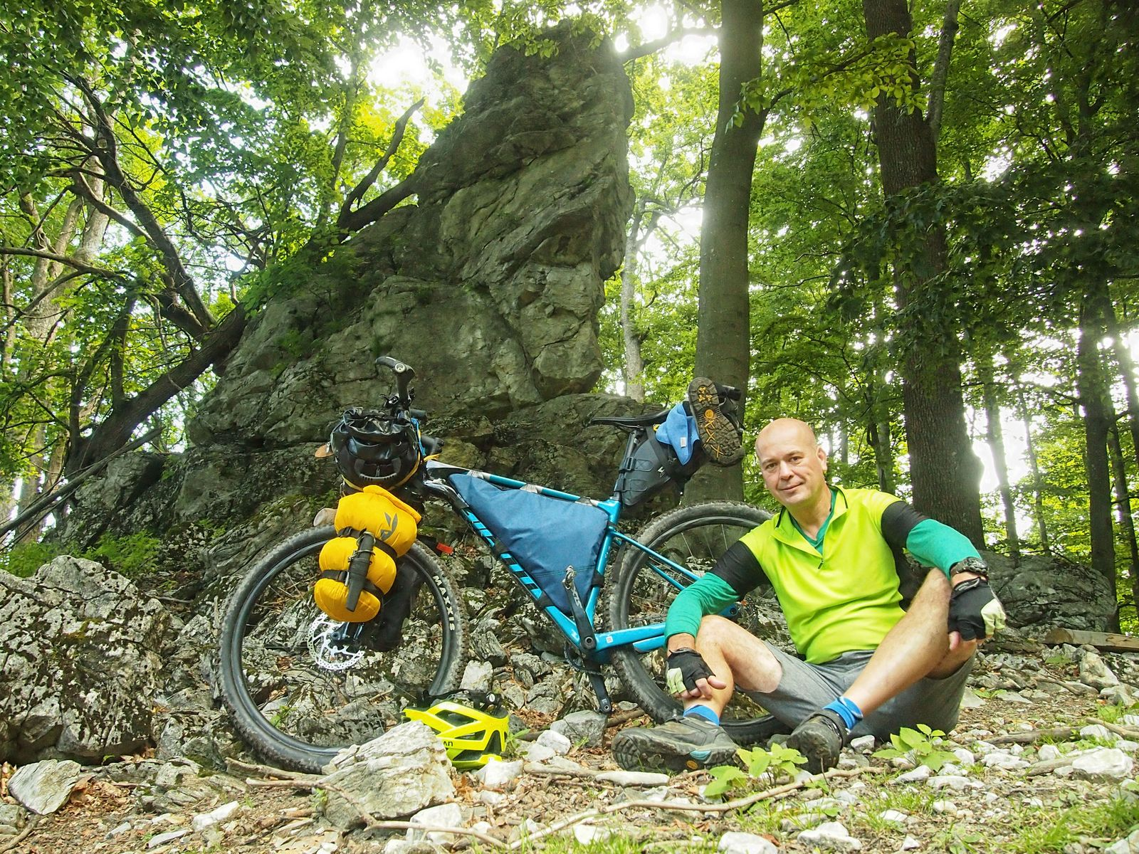 20 Bikepacking Stefánikova cyklomagistrála